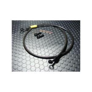ブレーキメッシュホース 850mm ブラック KN企画 アドレスV125(ADDRESS)|zerocustom