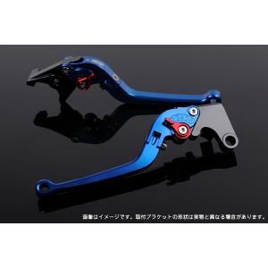 KTM 125DUKE 可倒式アジャストレバーセット レバー:ブルー  SSK(エスエスケー)|zerocustom