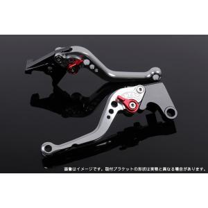 KTM 125DUKE ショートアジャストレバーセット レバー:シルバー  SSK(エスエスケー)|zerocustom