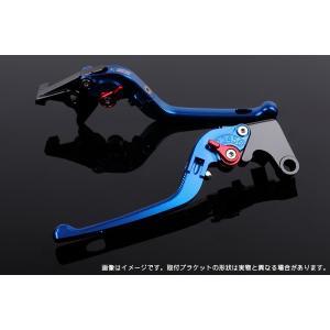 KTM 125DUKE 可倒式アジャストレバーセット 3D レバー:ブルー  SSK(エスエスケー) zerocustom