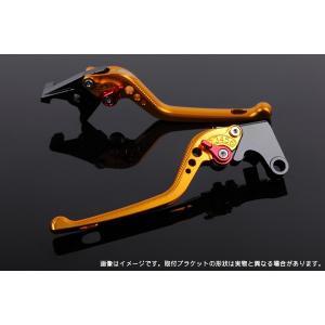 KTM 125DUKE アジャストレバーセット 3D レバー:ゴールド  SSK(エスエスケー)|zerocustom