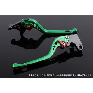 KTM 125DUKE アジャストレバーセット 3D レバー:グリーン  SSK(エスエスケー) zerocustom
