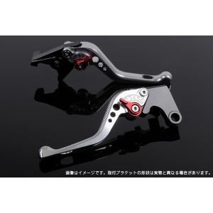 KTM 125DUKE ショートアジャストレバーセット 3D レバー:シルバー  SSK(エスエスケー) zerocustom