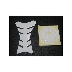 タンクパッド保護シールホワイト KN企画の商品画像