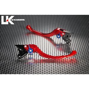 KTM 125DUKE(デューク) ツーリングタイプ アルミビレットレバーセット(レッド) U-KANAYA|zerocustom