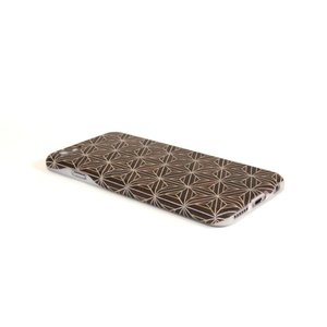 iPhone6・6S対応ケース(ジャケット):箱根細工3 八重麻葉/黒|zeroone-store
