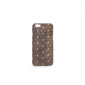 iPhone6・6S対応ケース(ジャケット):箱根細工3 八重麻葉/黒|zeroone-store|02