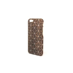 iPhone6・6S対応ケース(ジャケット):箱根細工3 八重麻葉/黒|zeroone-store|03