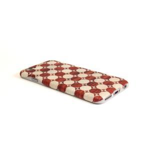 iPhone6・6S対応ケース(ジャケット):箱根細工5 奴/赤|zeroone-store