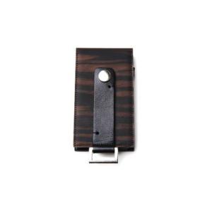 iPod touch case (黒檀×BLACK)|zeroone-store