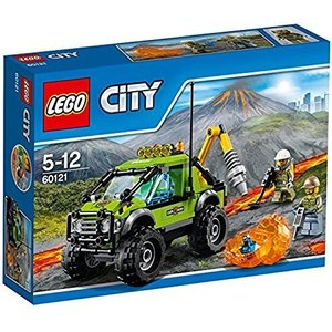 レゴ (LEGO) シティ 火山調査トラック 60121 新品|zeropartner