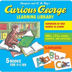 Curious George Learning Library 新品 洋書 zeropartner