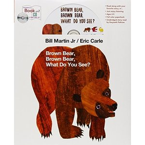 Brown Bear Book, Brown Bear, What Do You See? (Brown Bear and Friends) 新品 洋書 zeropartner