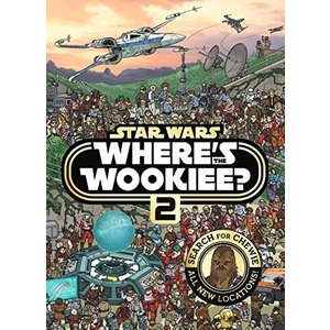 Star Wars Where's the Wookiee 2 Search and Find Activity Book (Star Wars Search & Find) 新品 洋書 zeropartner