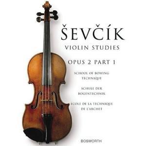 Sevcik Violin Studies Opus 2: School of Bowing Technique / Schule Der Bogentechnik / Ecple De La Technique De L'archet 新品 洋書 zeropartner