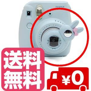 チェキ instax mini8 mini8+ mini7s 用 自撮りミラー付き 接写レンズ クローズアップレンズ Close-up lens【ブルー】|zeropotjapan