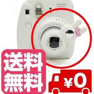 チェキ instax mini8 8s mini7s 用 自撮りミラー付き 接写レンズ クローズアップレンズ Close-up lens【ホワイト】|zeropotjapan