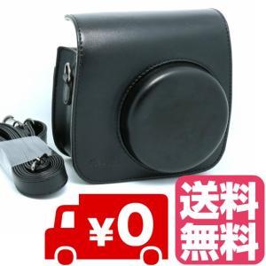 FUJIFILM インスタントカメラ チェキ instax mini 8 mini8+ プラス mini9 専用 カメラケース (ブラック) zeropotjapan