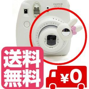 チェキ instax mini8 mini7s mini8+ mini9 用 自撮りミラー付き 接写レンズ クローズアップレンズ(ホワイト) zeropotjapan