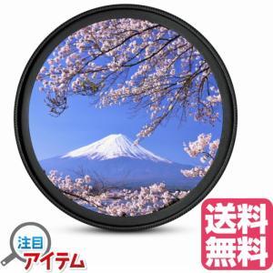 レンズ 保護 フィルター プロテクター 防塵 防汚 一眼レフカメラ ビデオカメラ用