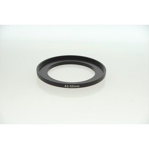 STEP UP RING ステップアップリング 43mm → 55mm ( 43 55 )|zeropotjapan
