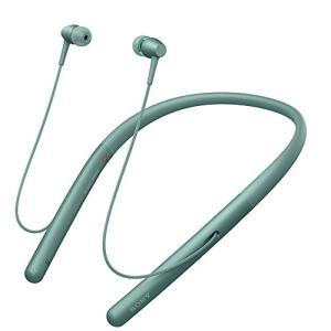 ソニー SONY ワイヤレスイヤホン Bluetooth/ハイレゾ対応 カナル型 マイク付き ホライズングリーン WI-H700 G 中古|zerothree