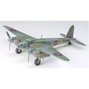タミヤ 1/72 ウォーバードコレクション No.53 イギリス空軍 デ・ハビランド モスキート B Mk.IV/PR MkIV プラモデル 60753|zerothree