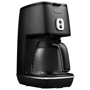 デロンギ ディスティンタコレクション ドリップコーヒーメーカー エレガンスブラック ICMI011J-BK|zerothree