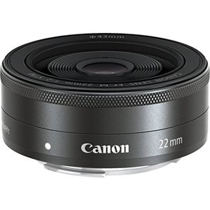 Canon 単焦点広角レンズ EF-M22mm F2 STM ミラーレス一眼対応 中古 zerothree