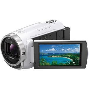 ソニー SONY ビデオカメラ Handycam HDR-CX680 光学30倍 内蔵メモリー64GB ホワイト HDR-CX680 W 中古 zerothree