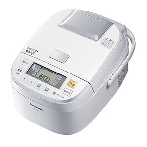 パナソニック 1升 炊飯器 圧力IH式 おどり炊き ホワイト SR-PB185-W|zerothree
