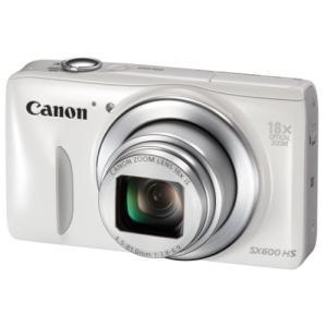 Canon デジタルカメラ Power Shot SX600 HS ホワイト 光学18倍ズーム PSSX600HS(WH) 中古 zerothree