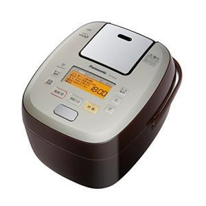 パナソニック 5.5合 炊飯器 圧力IH式 おどり炊き ブラウン SR-PA106-T 中古|zerothree