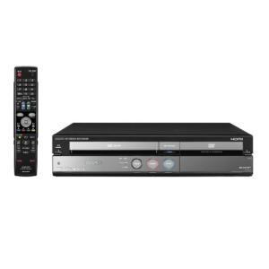 SHARP 250GB HDD搭載ビデオ一体型DVDレコーダー DV-ACV52 中古
