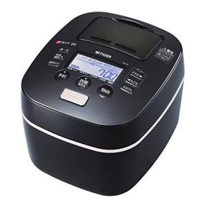 タイガー 炊飯器 土鍋圧力IH (炊きたて) 5.5合 ブラック JKX-G100-K 中古|zerothree