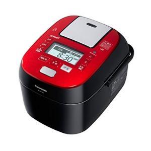 パナソニック 5.5合 炊飯器 圧力IH式 Wおどり炊き ルージュブラック SR-SPX106-RK 中古|zerothree