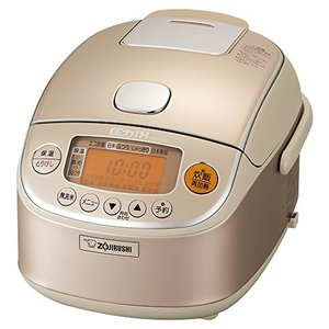 象印 炊飯器 圧力IH式 3合 シャンパンゴールド NP-RK05-NZ 中古|zerothree