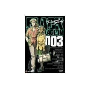 BLACK LAGOON The Second Barrage 003 (DVD) 中古