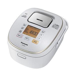 パナソニック 5.5合 炊飯器 IH式 大火力おどり炊き スノーホワイト SR-HX107-W