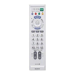 ソニー SONY テレビリモコン RM-PZ110D : 地デジテレビ専用 ホワイト RM-PZ11...