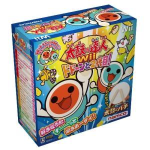 太鼓の達人Wii ドドーンと2代目! (専用太鼓コントローラ「太鼓とバチ」同梱) 綺麗め 中古