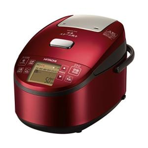日立 圧力スチームIH炊飯器 圧力スチーム炊き ふっくら御膳 メタリックレッド RZ-AV100M ...