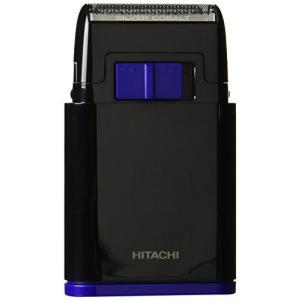 日立 メンズシェーバー 乾電池式シェーバー 1枚刃 携帯用 ブラック BM-S10-B zerothree