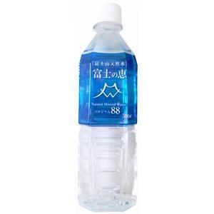 【送料無料(沖縄・離島除く)】富士山天然水 富士の恵 バナジウム88 1ケース(500ml PET×24本)