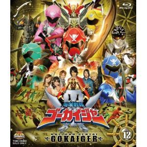 スーパー戦隊シリーズ 海賊戦隊ゴーカイジャー VOL.12(完)(Blu-ray) 中古