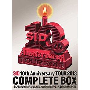 SID 10th Anniversary TOUR 2013 COMPLETE BOX(完全生産限定盤) (DVD) 新品