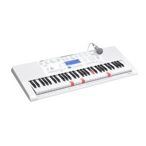 カシオ 電子キーボード 光ナビゲーションキーボード 安い 子供 初心者でも簡単演奏 USB対応 61ピアノ形状鍵盤 CASIO LK223|zerotwo-men