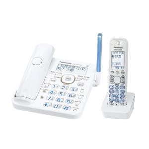 パナソニック デジタルコードレス電話機 子機1台付き 本体 1.9GHz DECT準拠方式 ホワイト VE-GD53DL-W|zerotwo-men