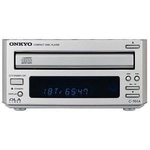ONKYO INTEC155 CDプレーヤー シルバー C-701A(S) 中古商品 アウトレット zerotwo-men