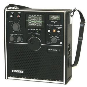 SONY ソニー ICF-5800 スカイセンサー 5バンドマルチバンドレシーバー FM/MW/SW...